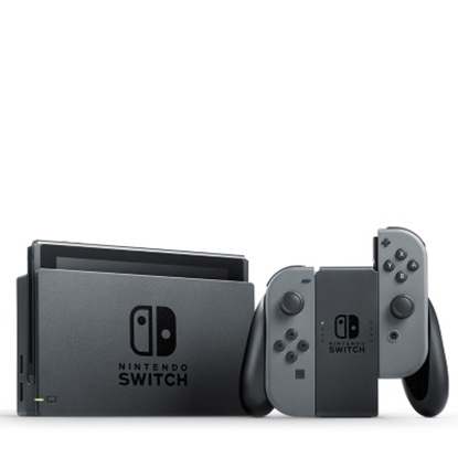 Picture of Nintendo Switch System with Three Games - Gray