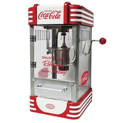 Picture of Nostalgia Electrics™ Kettle Popcorn Maker with Coke Logo