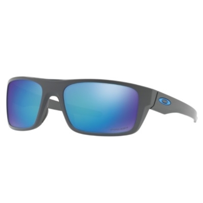 Picture of Oakley Drop Point Polarized - Matte Grey/PRIZM Sapphire