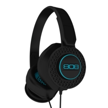 Picture of 808 Shox On-Ear Headphones - Black