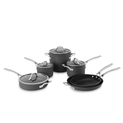 Picture of Calphalon Signature Nonstick 10PC Cookware & 15PC Knife Set