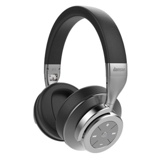 f56d415a298 Picture of Damson HeadSpace Wireless Noise Canceling Headphones - Grey
