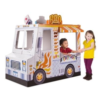 Picture of Melissa & Doug® Food Truck Indoor Playhouse