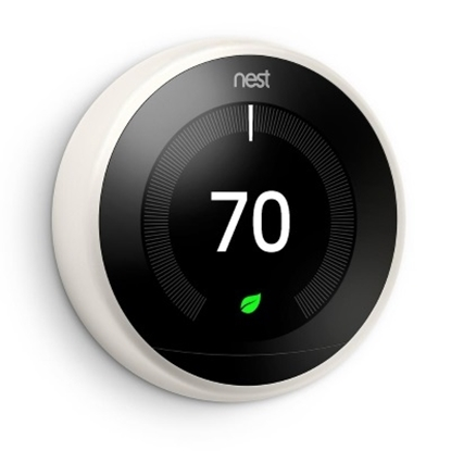 Picture of Nest Learning Thermostat 3rd Generation - White