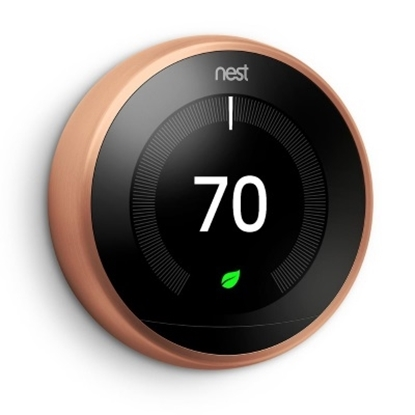 Picture of Nest Learning Thermostat 3rd Generation - Copper