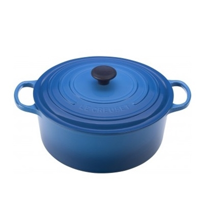Picture of Le Creuset 9-Qt. Round Cast Iron French Oven - Marseille