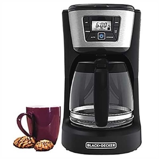 Picture of Black & Decker 12-Cup Programmable Coffee Maker - Black