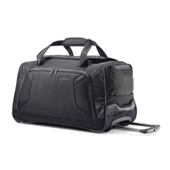 Picture of American Tourister Zoom 22'' Wheeled Duffel - Black
