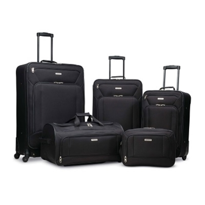 Picture of American Tourister Fieldbrook XLT 5-Piece Set - Black