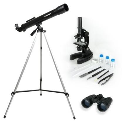 Picture of Celestron® Telescope, Microscope & Binocular Kit