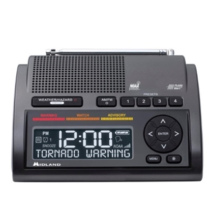 Picture of Midland® Deluxe NOAA Weather Radio