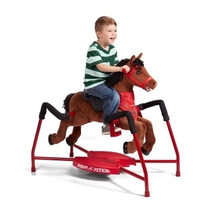 Picture of Radio Flyer® Plush Interactive Riding Horse