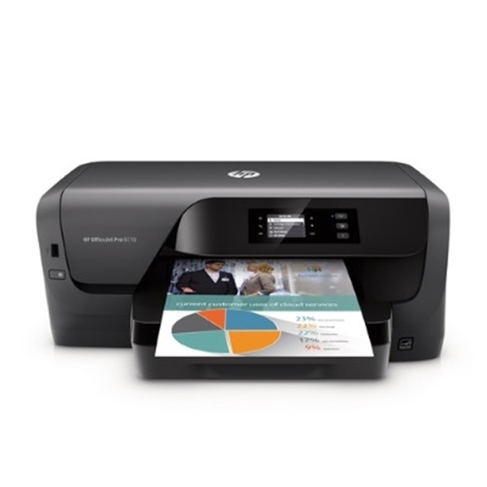 Picture of HP OfficeJet Pro Printer - Black