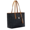 Picture of MCM Anya Medium Shopper - Black/Cognac
