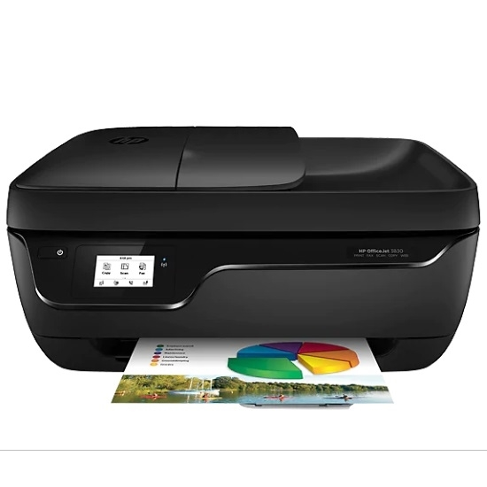 Picture of HP OfficeJet Color Multifunction Printer - Black