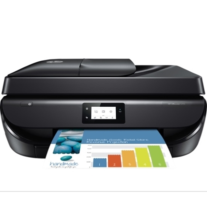 Picture of HP OfficeJet Color All-in-One Printer - Black