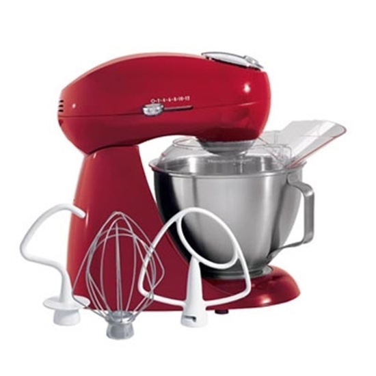 Picture of Hamilton Beach Eclectrics All-Metal Stand Mixer - Carmine Red