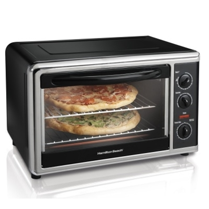 Picture of Hamilton Beach® Countertop Oven with Rotisserie - Black