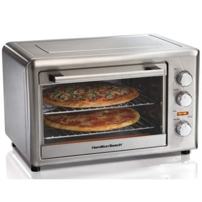 Picture of Hamilton Beach® Countertop Oven with Rotisserie - Steel