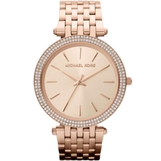 7fdf5d41f73b2 MileagePlus Merchandise Awards. Michael Kors Ladies  Darci Rose-Gold ...