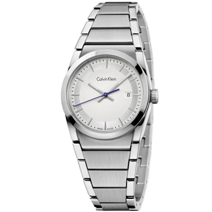 Picture of Calvin Klein Step Stainless Steel Ladies' Watch w/ Silver Dial