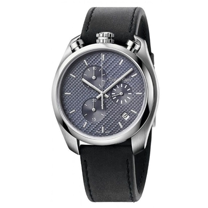 Picture of Calvin Klein Control Chrono w/ Dark Grey Dial & Leather Strap
