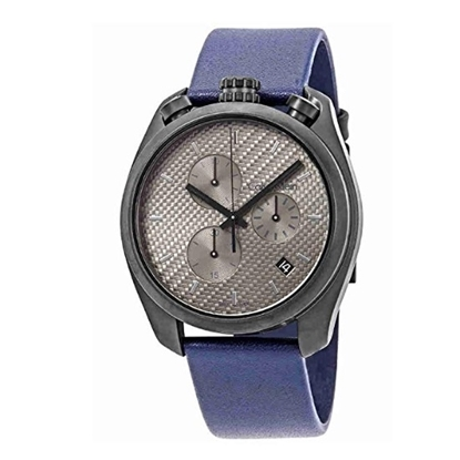 Picture of Calvin Klein Control Chrono w/ Grey Dial & Blue Leather Strap