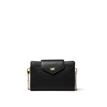 Picture of Michael Kors Medium Convertible Crossbody Clutch - Black