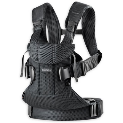 Picture of BabyBjorn Baby Carrier One Air - Black/Mesh