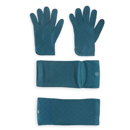 Picture of Gaiam® Relax Moisturizing Socks and Gloves Bundle