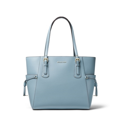 Picture of Michael Kors Voyager E/W Tote - Powder Blue