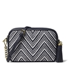 Picture of Michael Kors Medium Camera Bag - Admiral/Optic White