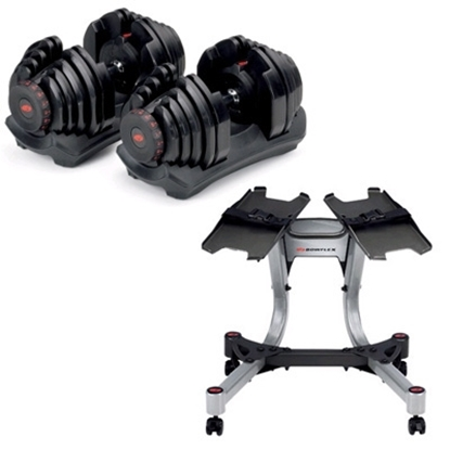 Picture of Bowflex® SelectTech® 10-90 Dumbbells with Stand