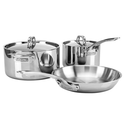 Picture of Viking 3-Ply 5-Piece Starter Cookware Set