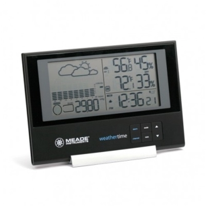 Picture of Meade® Slim Personal Weather Station with Atomic Clock