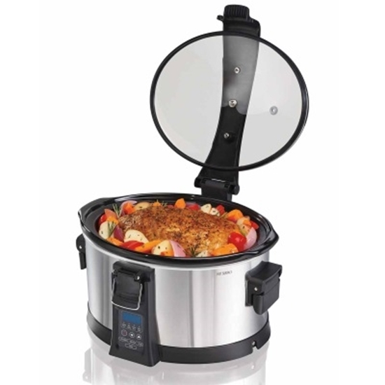 Picture of Hamilton Beach Set & Forget Programmable 6-Qt. Slow Cooker