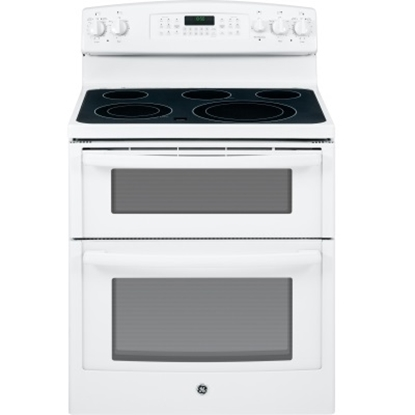 Picture of GE® 30'' Electric Double Oven - White