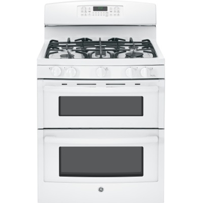 Picture of GE® 30'' Gas Double Oven - White