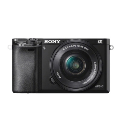 Picture of Sony Mirrorless 24.3MP Digital Camera w/ 8GB SD Card - Black