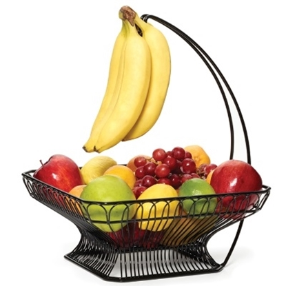 Picture of Mikasa Gourmet Basics Fruit Basket with Banana Hook