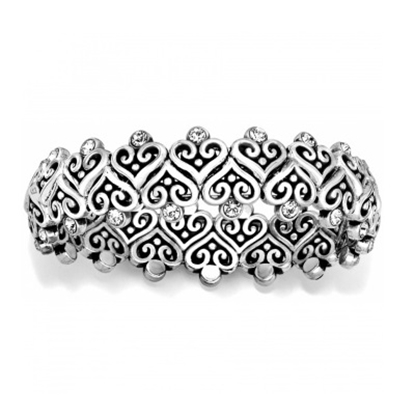 Picture of Brighton Alcazar Heart Stretch Bracelet