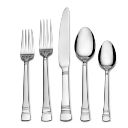 Picture of International Home Silver Kensington 51-Piece Flatware Set
