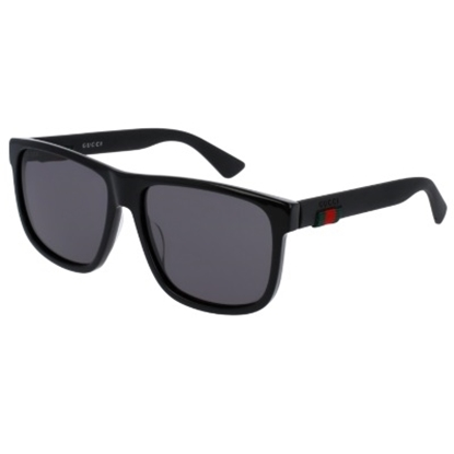 Picture of Gucci Urban Rubber Nylon Wayfarer - Black/Grey