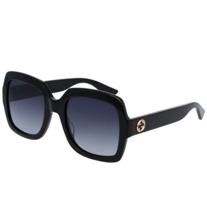 Picture of Gucci Urban Pop Nylon Oversized Sunglasses - Black/Grey