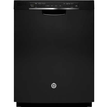 Picture of GE Stainless Steel Interior Dishwasher w/ Front Controls - Blk