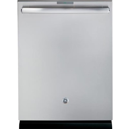 Picture of GE Profile Stainless Steel Dishwasher with Hidden Controls