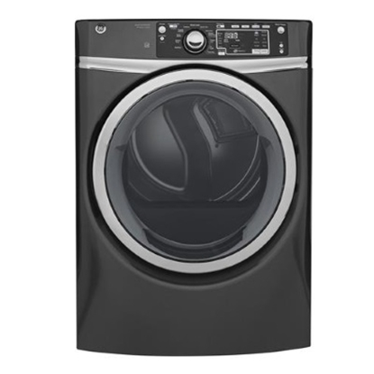 Picture of GE 8.3 Cu. Ft. Frontload Electric Dryer with Steam - Grey