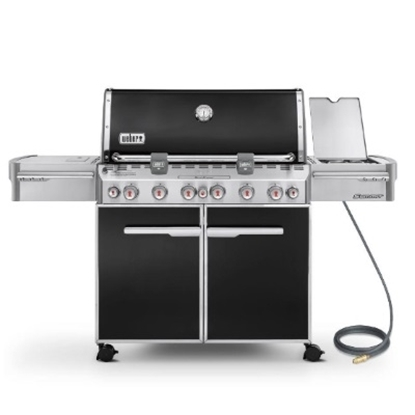 Picture of Weber® Summit E-670 Natural Gas Grill - Black