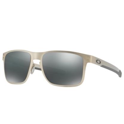 Picture of Oakley Holbrook Metal Sunglasses - Satin Chrome/Black Iridium