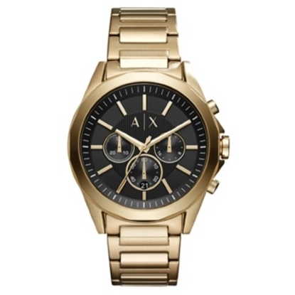 Picture of Armani Exchange Men's Gold-Tone Chrono Watch